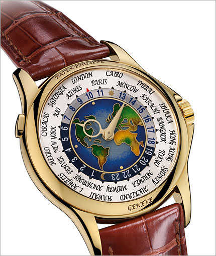 Patek Philippe 1939 Platinum World Time Watch.