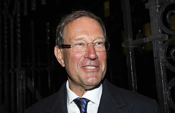 Richard Desmond in London.