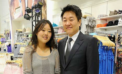 Do Won Chang with daughter Linda.