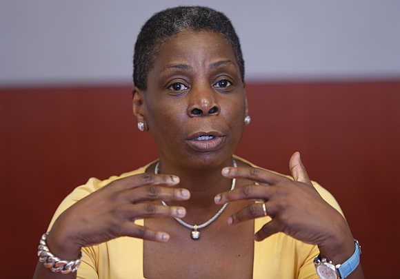 Ursula Burns in New York.