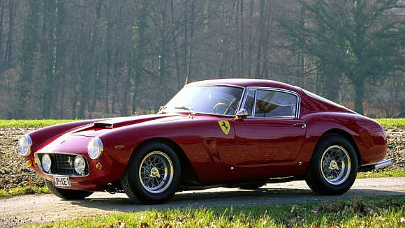 1956 Ferrari 250 GT Tour de France Coupe.