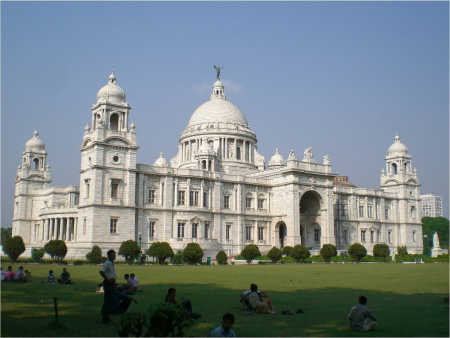 The standard joke was that the 'M' in CPI(M) stood not for Marxist but Marwari. A view of Victoria Memorial in Kolkata.
