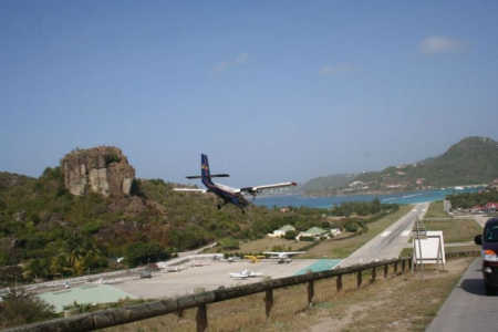 The locals claim it is the shortest runway.