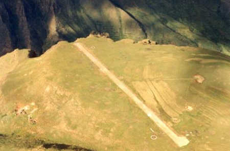 Matekane Air Strip.