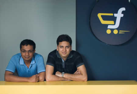 Sachin and Binny Bansal.