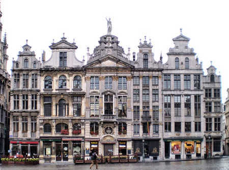 Debt as a percentage of GDP in Belgium is 97.2 per cent. A view of Brussels.