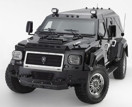 The Knight XV is powered by a 6.0 lire Vortec V8 engine.