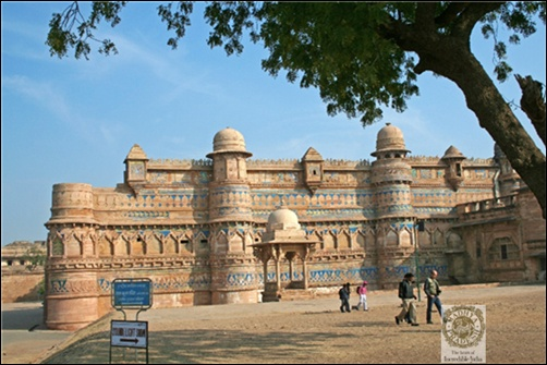 The Gwalior Fort.