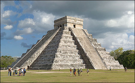 Archaeological sites of Chichen-Itza, Mexico.