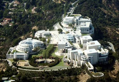 J Paul Getty Center.