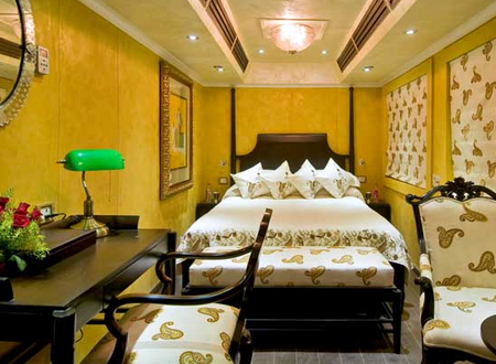 The Palace on Wheels is a luxury tourist train.