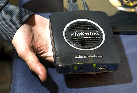 ActionTec wireless HD video receiver.