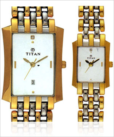 Titan watches.