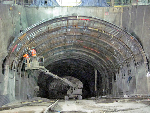 East side access project.