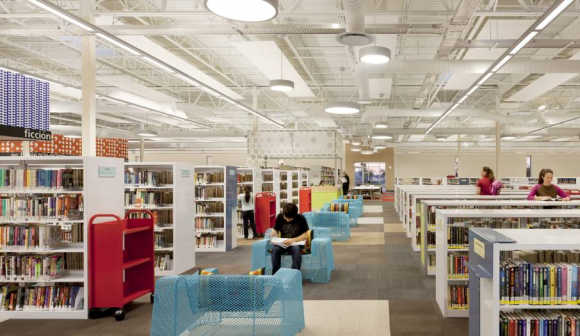 Stunning images of a library in Texas