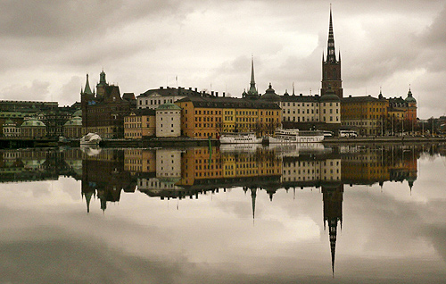 Stockholm's Gamla Stan or old town district