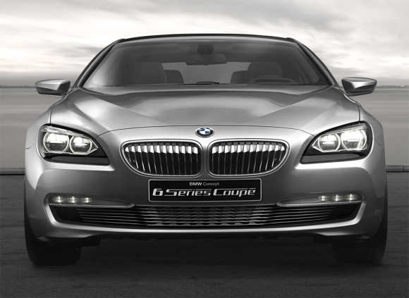 BMW 6 Series Coupe.