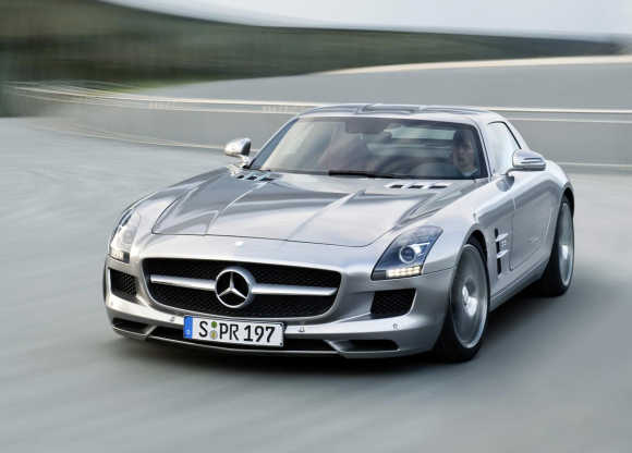 Mercedes SLS AMG Coupe.