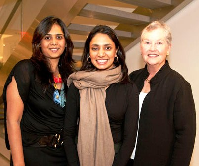 Vandana Goyal (in the middle).