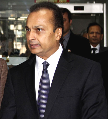 Reliance Power Chairman Anil Ambani.
