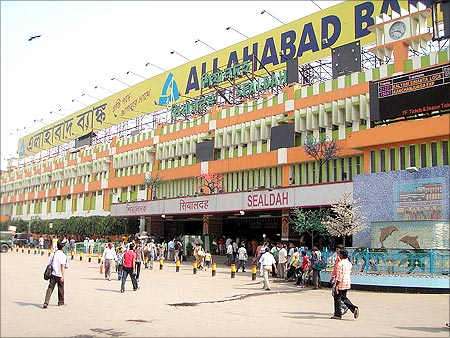 Sealdah railway station.