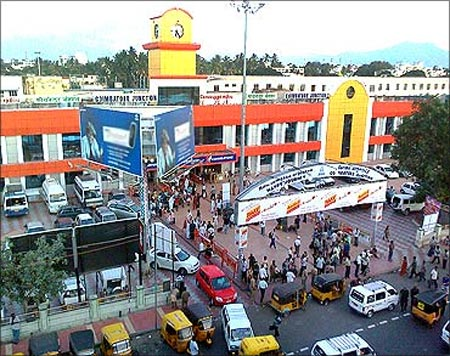 Coimbatore Junction.