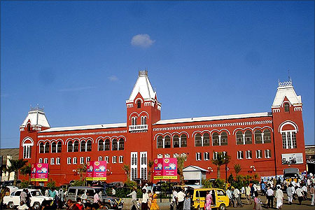 Chennai Central station.