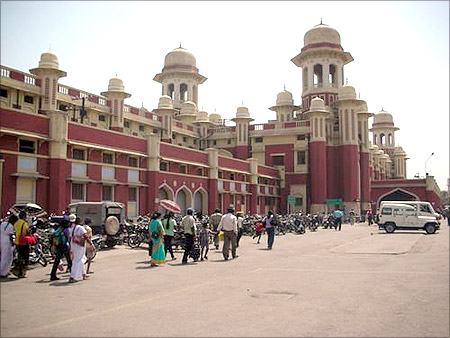 Lucknow station.