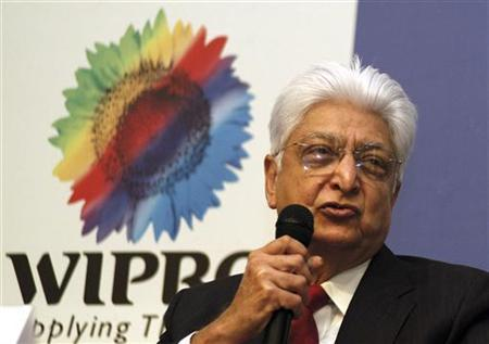 Azim Premji lives on the campus.