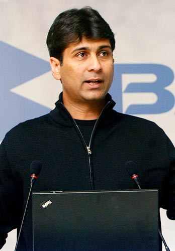 Rajiv Bajaj, managing director of Bajaj Auto