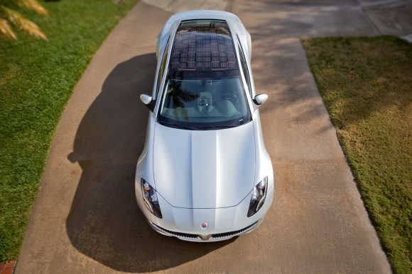 Amazing images of electric car, Fisker Karma