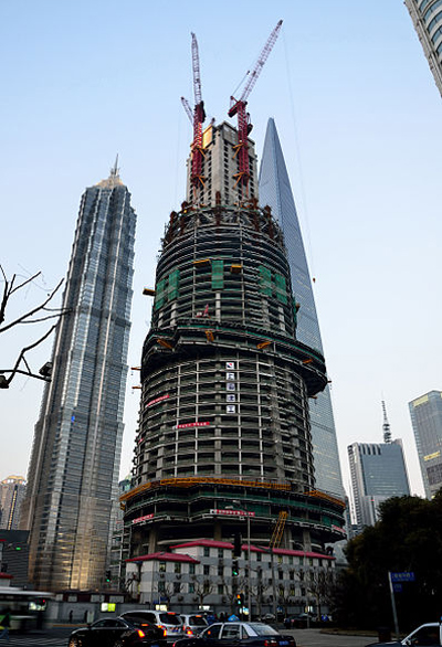 Shanghai Tower.