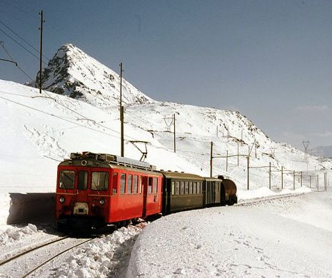 The Bernina Railway.