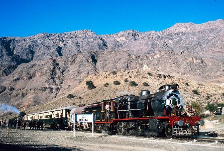 The Khyber Railway, Pakistan.