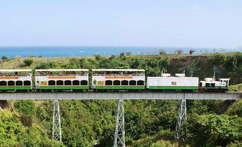 St Kitts' Scenic Railway.