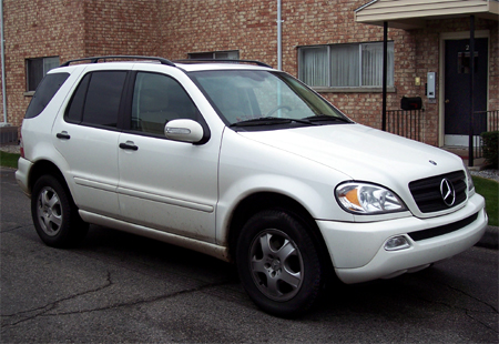 Mercedes-Benz ML350.