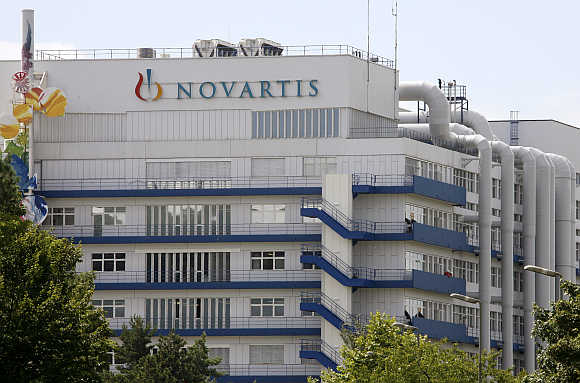 Production plant of the pharmaceutical company Novartis in Schweizerhalle near Basel, Switzerland.