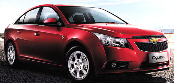Chevrolet to launch 2 more cars in India, soon - Rediff ...