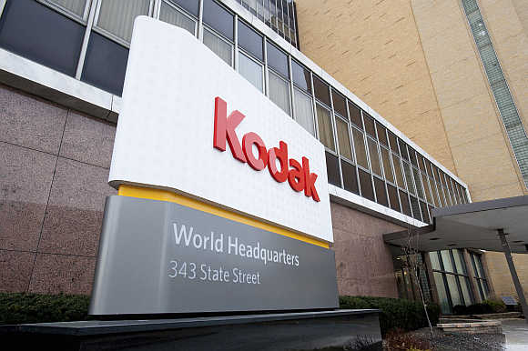 Kodak World Headquarters in Rochester, New York.