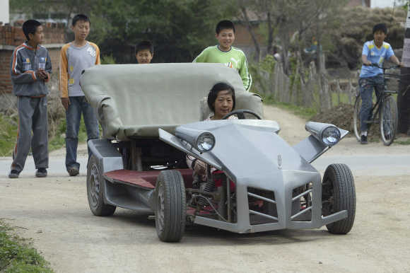 Stunning Photos Of Homemade Cars Rediff Com Business