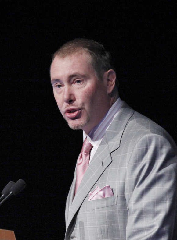 Jeffrey Gundlach in in New York.