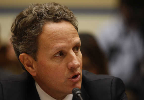 Tim Geithner in Washington, DC.