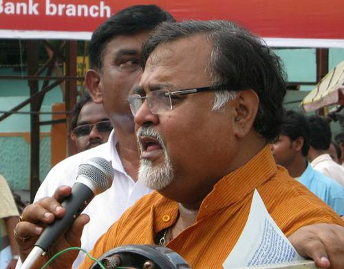 West Bengal Minister for Commerce & Industries Partha Chatterjee.
