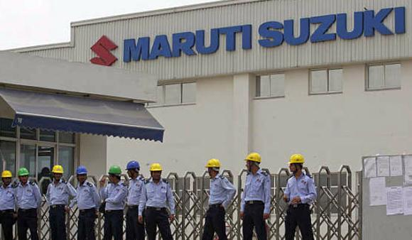 Maruti Suzuki plant at Manesar.