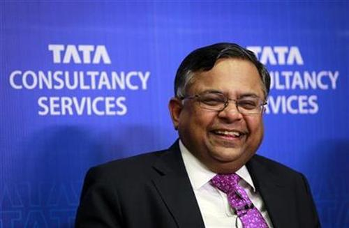 TCS CEO and MD N. Chandrasekaran.