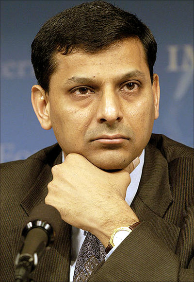 Raghuram G Rajan, Governor, Reserve Bank of India.