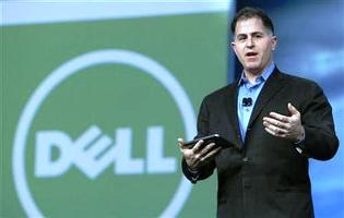 Image: Dell founder and CEO Michael Dell ' Photograph: Robert Galbraith/Reuters