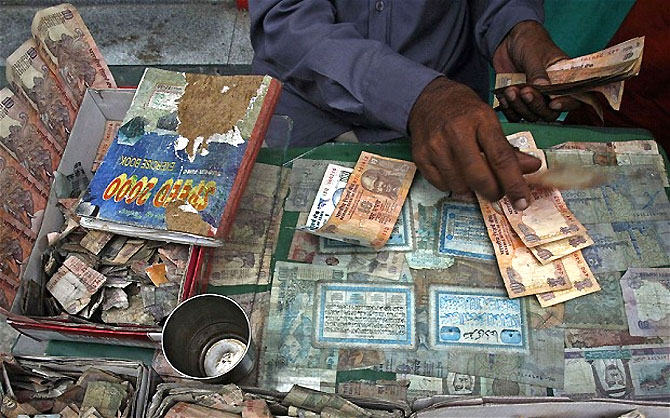 Rupee approaching tipping point