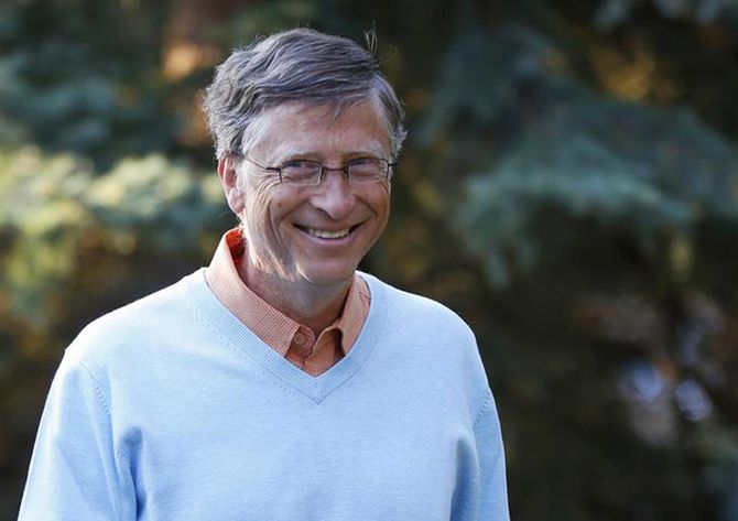 Microsoft co-founder Bill Gates attends the Allen & Co Media Conference.