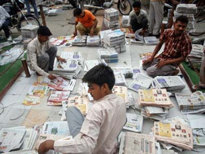 India has a world-beating 135 news channels and 94,000 registered publications.